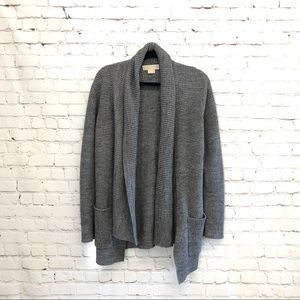 Michael Kors Grey Cardigan Sweater